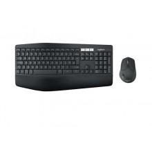 Logitech MK850 RF Wireless + Bluetooth QWERTY Español Negro