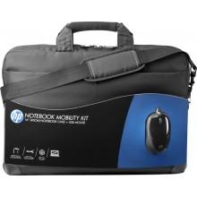 HP Kit maletín y ratón USB de