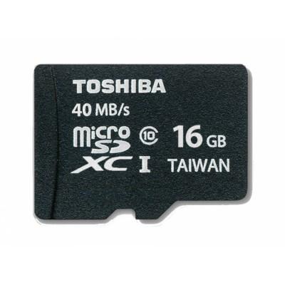 MicroSDXC 16GB Toshiba Class 10 memoria flash Clase 10 UHS
