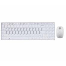Phoenix Technologies PHKEYULTRASLIMWSP teclado Bluetooth Español Blanco
