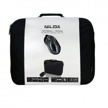 Maletín Nilox Kit Borsa Notebook + Mouse 15.6""