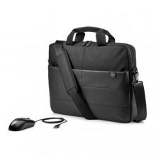 "HP 15.6"" Classic Briefcase - Mouse maletines para portátil 39,6 cm (15.6"") Maletín Negro"