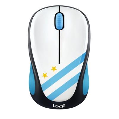 Ratón Logitech M238 con los colores de Argentina