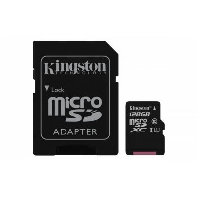 Kingston Technology Canvas Select memoria flash 128 GB MicroSDXC Clase 10 UHS-I