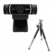 Logitech C922 1920 x 1080Pixeles USB Negro cámara web