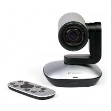 Logitech PTZ Pro Camera 1920 x 1080Pixeles USB Negro, Gris cámara web