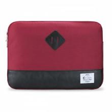 """e-Vitta Sleeve Heritage 15.6"""" Funda Negro, Rojo"""