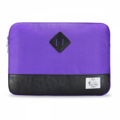 "e-Vitta Sleeve Heritage 15.6"" Funda Negro, Púrpura"