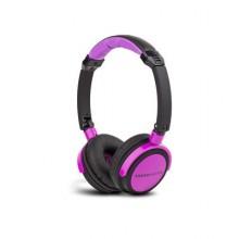 Energy Sistem DJ 400 Black Violet Negro, Violeta Supraaural auricular