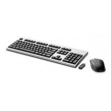 HP 2.4GHz Wireless Keyboard and Mouse RF inalámbrico teclado, TECLADO EXTRANJERO