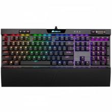 Corsair K70 RGB MK.2 teclado USB QZERTY Español Negro