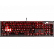 MSI Vigor GK60 teclado USB QWERTY Español Negro
