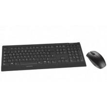 CHERRY JD-0400 teclado RF inalámbrico Español Negro