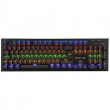The G-Lab Keyz Carbon teclado USB QWERTY Español Negro