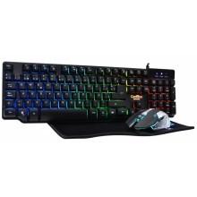 CoolBox DeepTeam V.2 teclado USB QWERTY Español Negro