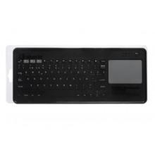 SilverHT Touchpad Wireless KB Silver Ht Dark Grey