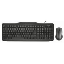 Trust 21398 teclado USB QWERTY Español Negro