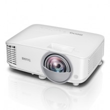 VideoProyector Benq MX808ST 3000 lúmenes ANSI DLP XGA (1024x768) Proyector para escritorio Blanco