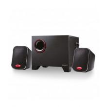 EW3505 conjunto de altavoces 2.1 canales 15 W Negro