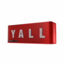 Music Box 5+ Yall Edition 10 W Altavoz portátil estéreo Rojo, Blanco