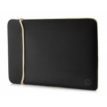"""HP Reversible Neoprene maletines para portátil 39,6 cm (15.6"""") Funda Negro, Oro"""