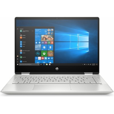 "HP Pavilion x360 14-dh1017ns Plata Híbrido (2-en-1) 35,6 cm (14"") 1920 x 1080 Pixeles Pantalla táctil Pantalla dual Intel®"