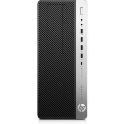 HP EliteDesk 800 G5 9na generación de procesadores Intel® Core™ i5 i5-9500 8 GB DDR4-SDRAM 256 GB SSD Negro Torre PC