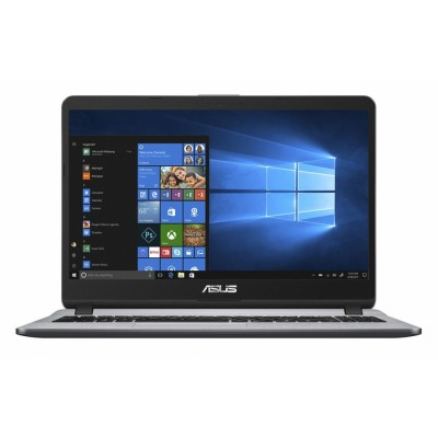 "ASUS X507MA-BR418 Gris Portátil 39,6 cm (15.6"") 1366 x 768 Pixeles Intel® Celeron® N 4 GB DDR4-SDRAM 256 GB SSD Wi-Fi 4 (8"