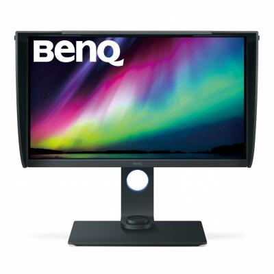 "Benq SW271 68,6 cm (27"") 3840 x 2160 Pixeles 3D 4K Ultra HD LED Plana Negro, Gris"