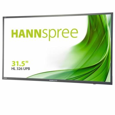 "Hannspree HL326UPB LED display 80 cm (31.5"") 1920 x 1080 Pixeles Full HD Plana Negro"