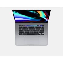 """Apple MacBook Pro Gris Portátil 40,6 cm (16"""") 3072 x 1920 Pixeles 9na generación de procesadores Intel® Core™ i9 16 GB D"""