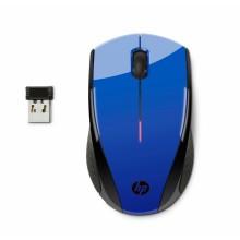 Ratón HP inalámbrico azul cobalto X3000
