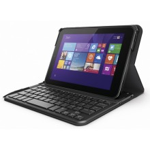 Teclado HP Pro Tablet 408 Bluetooth Keyboard Case teclado para móvil Negro, Grafito