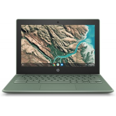 "HP Chromebook 11 G8 EE Verde 29,5 cm (11.6"") 1366 x 768 Pixeles Intel® Celeron® N 4 GB LPDDR4-SDRAM 32 GB eMMC Wi-Fi 5 (802"
