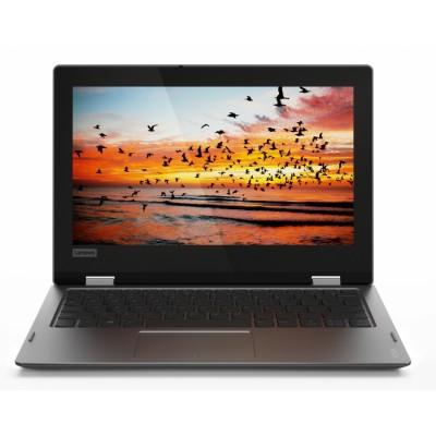 "Lenovo 330 Gris Híbrido (2-en-1) 29,5 cm (11.6"") 1366 x 768 Pixeles Pantalla táctil Intel® Celeron® 2 GB DDR4-SDRAM 64 GB"