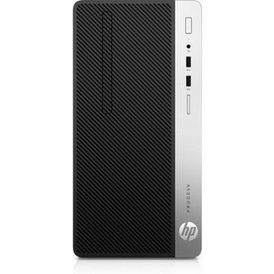 HP ProDesk 400 G6 9na generación de procesadores Intel® Core™ i5 i5-9400F 8 GB DDR4-SDRAM 256 GB SSD Micro Tower Negro PC