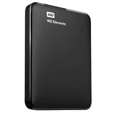 Western Digital WD Elements disco duro externo 2000 GB Negro