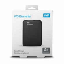 Disco Duro Externo Western Digital WD Elements Portable 2 TB