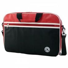 """e-Vitta Retro maletines para portátil 31,8 cm (12.5"""") Maletín Negro, Rojo"""