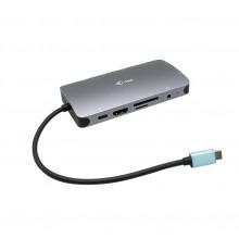 Metal USB-C Nano Dock HDMI/VGA with LAN + Power Delivery 100 W