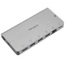 DOCK414EU base para portátil y replicador de puertos Alámbrico USB 3.2 Gen 1 (3.1 Gen 1) Type-C Negro, Plata