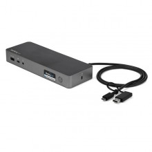 Docking Station Universal de 4K Doble para Portátil - USB-C / USB 3.0 - PD de 100W