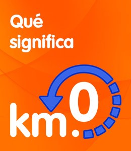 Qué significa km.0