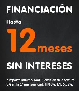 Financiación 12 meses