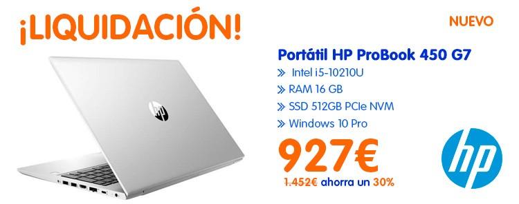 Oferta Portátiles HP Baratos