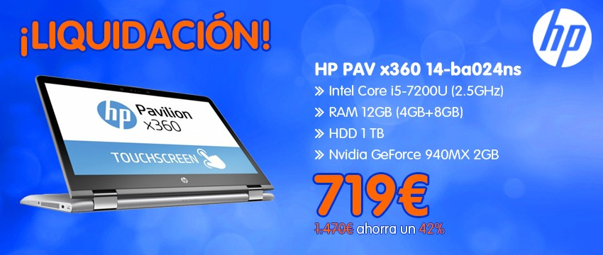 HP Pavilion x360 14-ba024ns