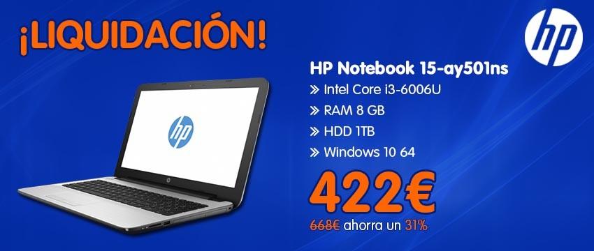 HP NOTEBOOK 15-AY501NS