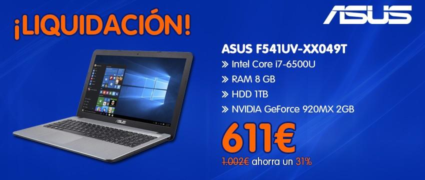 ASUS F541UV-XX049T