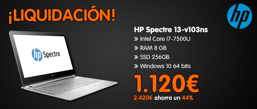 HP Spectre 13-v103ns