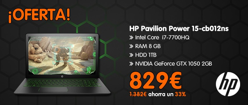 HP PAVILION POWER 15-CB012NS